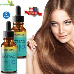 #1 BEST CASTOR HAIR OIL FOR EYELASHES EYEBROWS SKIN FACE FAS