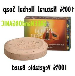 100% Natural PAPAYA SKIN WHITENING HERBAL SOAP  Shea Butter