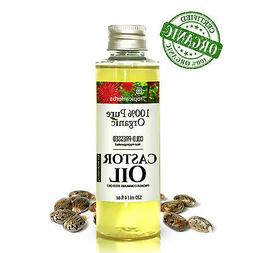 100% PURE CASTOR OIL CERTIFIED ORGANIC COLD PRESSED HEXANE F