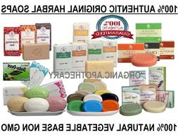 100% NATURAL HEALTHY SOAP BARS Handcrafted/Botanical/Herbal/