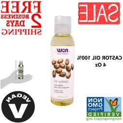 100% Pure Organic Castor Oil For Hair Growth And Skin Emolli