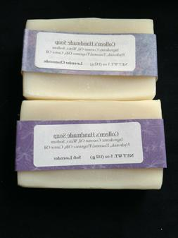 2 Pack Handmade Bar Soap variety of scents homemade handcut