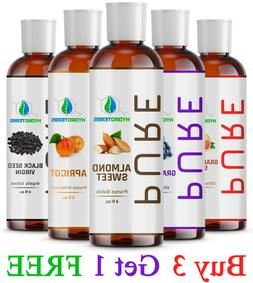 4 oz Carrier Oil 100% Pure Cold Pressed Organic For Skin, Ha