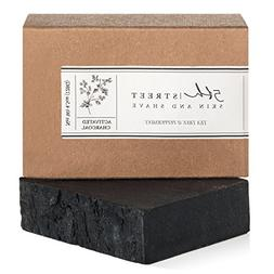 Activated Charcoal Soap Bar with Peppermint + Tea Tree - Han