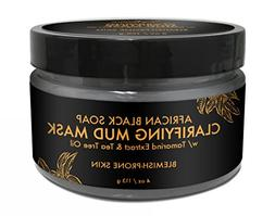 SheaMoisture African Black Soap Problem Skin Facial Mask, 4