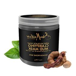 Shea Moisture African Black Soap Clarifying Mud Mask for Uni