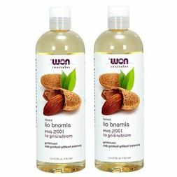 Now Foods Almond Oil 16oz  Total 32oz. exp 11-2019