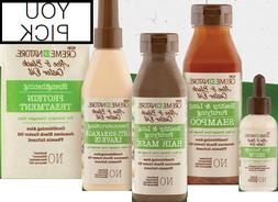 Creme Of Nature Aloe & Black Castor Oil Hair Care Products -