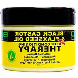Eco Style Black Castor & Flaxseed Oil Deep Conditioning Ther