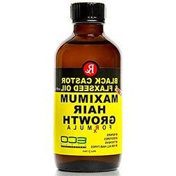 Eco Style Black Castor and Flaxseed Oil Maximum Hair Growth