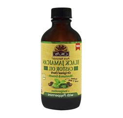 Okay Black Jamaican Castor Oil Soothes Scalp Skin Invigorati