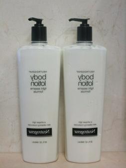 NEUTROGENA BODY LOTION LIGHT SESAME FORMULA 32 FL OZ   UNBOX