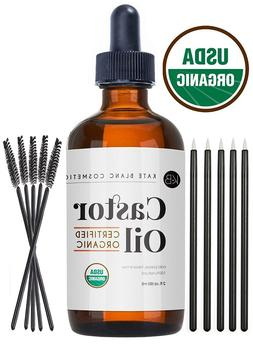 Castor Oil , USDA 100% Pure, Stimulate Growth for Eyelashes,