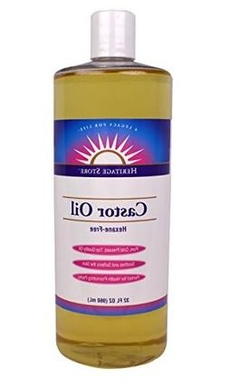 Heritage Products Castor Oil Top Quality Pure Cold Pressed S