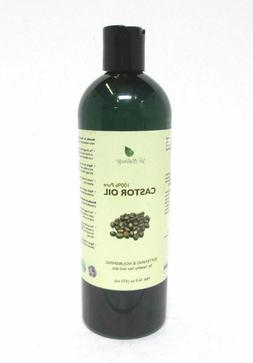 Pure Castor Oil - Cold Pressed for Eyelashes, Skin, Hair Gro