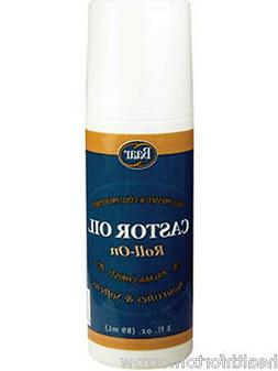 Baar Products Castor Oil Roll-On 3 oz