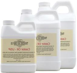 Castor Oil USP, 100% pure, Soap making supplies, HEXANE FREE