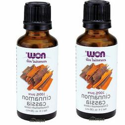 NOW Cinnamon Cassia Oil, 1-Ounce