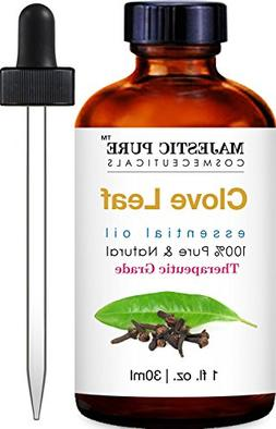 Majestic Pure Clove Essential Oil, Pure and Natural Therapeu