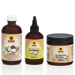 Tropic Isle Living Coconut Jamaican Black Castor Oil + Cocon