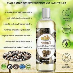 Cold Pressed Pure Castor Oil Therapeutic Grade Hair Growth S