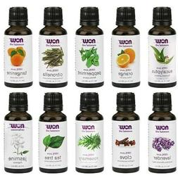 NOW Foods Essential Oils 10-Oil Variety Pack Sampler - 1oz E
