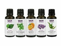Now Foods Essential Oils Oils 5-Pack Variety Sampler 1oz Eac