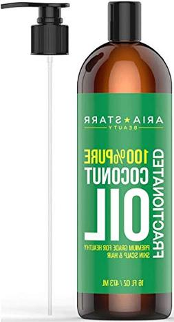 Aria Starr Fractionated Coconut Oil  Best Carrier Oil For Es