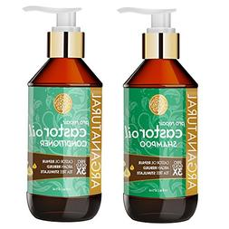Arganatural Gold Pro Repair Castor Oil Shampoo 16oz
