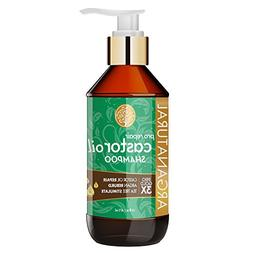 Arganatural Gold Pro Repair Castor Oil Shampoo 16 Fluid Ounc