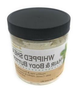 Goldstar Whipped Shea Butter for Hair and Body with Castor,
