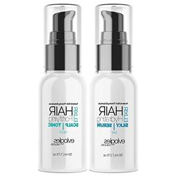 Hair Growth Serum And Leave In Conditioner Treatment Set - A