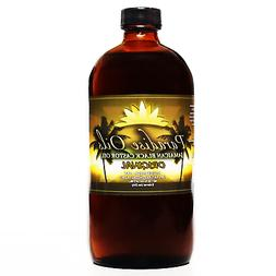 Paradise Oils Jamaican Black Castor Oil 16oz ORIGINAL 100% N
