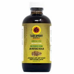 Tropic Isle Living Jamaican Black Castor Oil 4 oz. Glass Bot