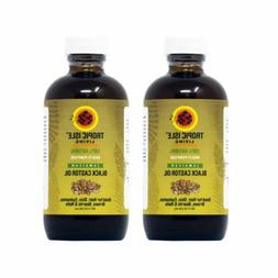 "Tropic Isle Living Jamaican Black Castor Oil 4 oz ""PACK OF 2"