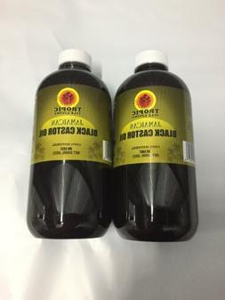 Tropic Isle Living Jamaican Black Castor Oil-8oz Plastic Two