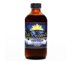 Paradise Oils Jamaican Black Castor Oil 8oz ROSEMARY 100% Na
