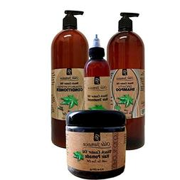 Jamaican Black Castor Oil SALON SIZE Combo