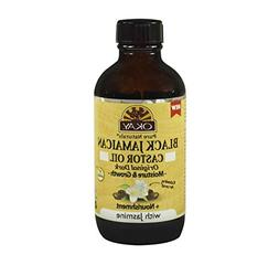 OKAY OKAY-BJODJA4 4 oz Black Jamaican Castor Oil Original Da