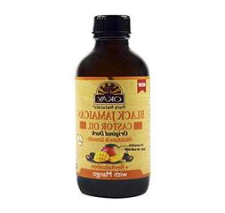 OKAY OKAY-BJODMA4 4 oz Black Jamaican Castor Oil Original Da