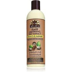 Okay Black Jamaican Castor Oil Conditioner, Moisture & Growt