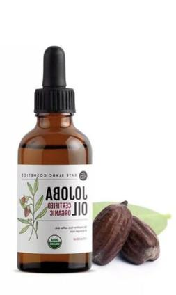 Jojoba Oil , USDA Certified Organic, 100% Pure, Cold Pressed