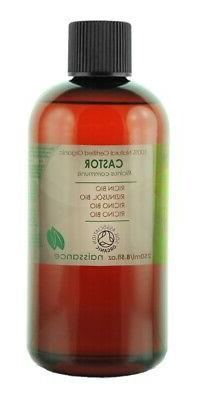 250ml Organic Castor Oil - 100% Pure Cold Pressed. Naissance