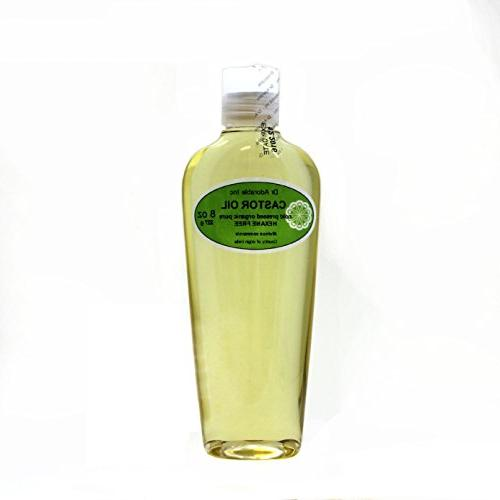 Castor Oil Pure Organic Cold Pressed Virgin by Dr.Adorable 8