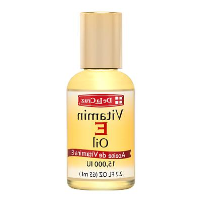 De La Cruz Vitamin E Oil 15,000 IU, No Preservatives, Artifi