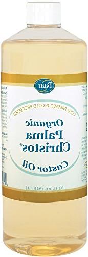 ORGANIC CASTOR OIL 32 FL. OZ. - Exclusive Palma Christos® B