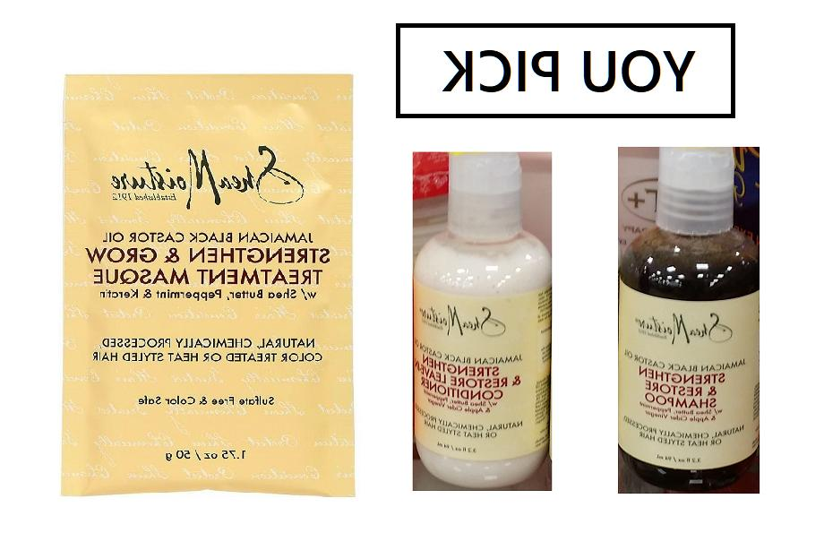 Shea Moisture Jamaican Castor Restore Products-YOU PICK