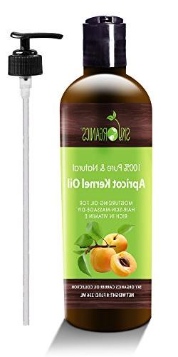 Apricot Kernel Oil by Sky Organics - 100% Pure, Natural & Co