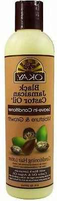 Okay Black Jamaican Castor Oil Leave-In Conditioner 8 oz