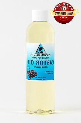 CASTOR OIL ORGANIC USP GRADE HEXANE FREE by H&B Oils Center